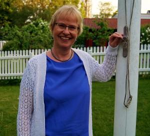 """Ann-Christin, """"spännet"""" som håller ihop Halsbandet! (Foto: Y. Bergelin)"""