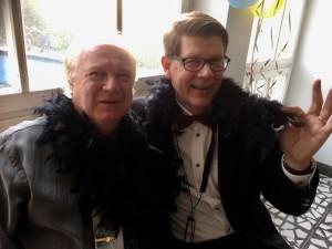 Glamour med Roffe och Bernt. (Foto: Y. Bergelin)