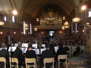 Även S:t Johannes kyrka blev fullsatt! (Foto: Sune Berglund)