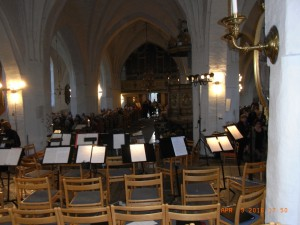 S:t Laurentii var fullsatt! (Foto: Sune Berglund)